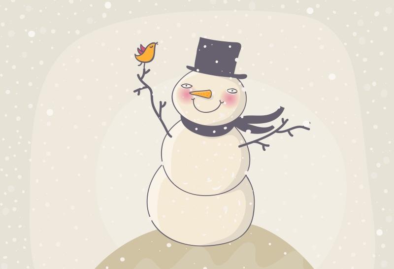 bonhomme neige 2
